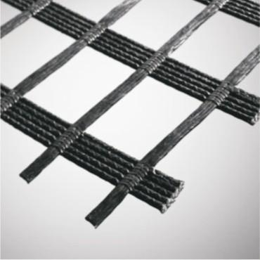 الهندسة Uniaxial PET Geogrids