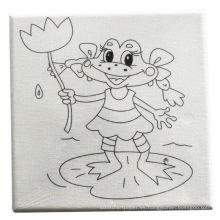 pintura diy niños dibujando para colorearme tablero de lona