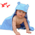 Высокое Качество ISO Сертификации Антибактериальные 100% Бамбуковое Волокно С Капюшоном Ребенок Полотенце