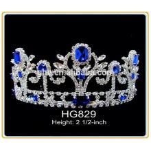 Fábrica totalmente estocada diretamente a coroa de tiara por atacado