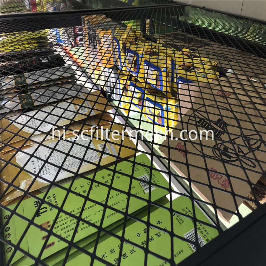 Punched Diamond Mesh