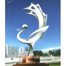2016 O Novo Conceito De Arte Abstrata Escultura Alta Quanlity