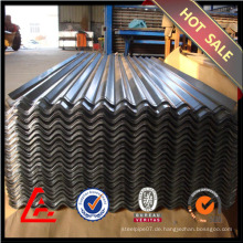 0,25 mm gewellte Stahlbleche / verzinktes Stahlblech / GI Metalldach