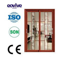 Best Sale new style aluminum alloy modern interior double doors
