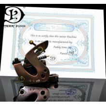 Qualidade superior Paddy ferros máquinas de tatuagem personalizada