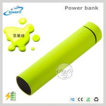 Haut-parleur stéréo de Bluetooth de banque de puissance avec la fonction de FM