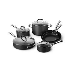 Utensilios de cocina ecológicos de aluminio antiadherente