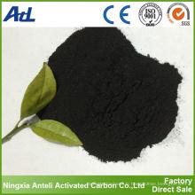 Carbone activé par poudre de charbon de 200 mailles pour le traitement des eaux usées
