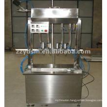 2012 popular semi-automatict oil filling/packing machine