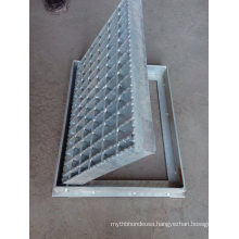 Manufacturers Hot Dipped Galvanized Treads Serrated Steel Grating
