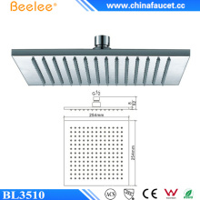 China Sanitary Ware 10 Inch Rain Shower Head in Wall