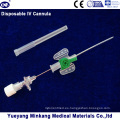 Blister Embalado Medical IV Cánula IV Catéter Mariposa Tipo 18g