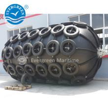 Pára-choque marinho de borracha pneumático flutuante inflável eficaz na redução de custos de yokohama