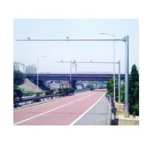 Poste de monitor de acero de mástil de 10 m para sistema de monitoreo