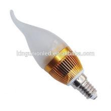 Alumínio ou vidro LED vela luz RGB controlador Epistar Cree Chips