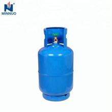 25LBS leeren Stahl LPG Gas Propan Zylinder Tank für Dominica Markt