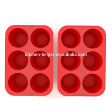 Professional Manufacturer High Quality Factory Price Food Grade Non-stick Silicone Muffin Pan Silicone Muffin Baking Mold