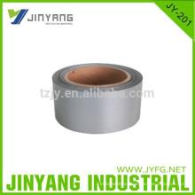 100% poliester cinta reflectante de plata
