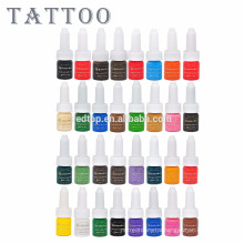 High Quality Gold Rose Permanent Makeup Ink Tattoo Pigment 32 Colors