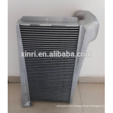 Water to air fin tube intercooler kits for Mercedes Benzs on sale 6555010001 NISSENS:96904
