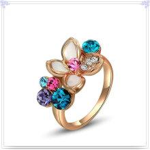Joyería cristalina anillo de aleación de joyería de cristal (al0014rg)