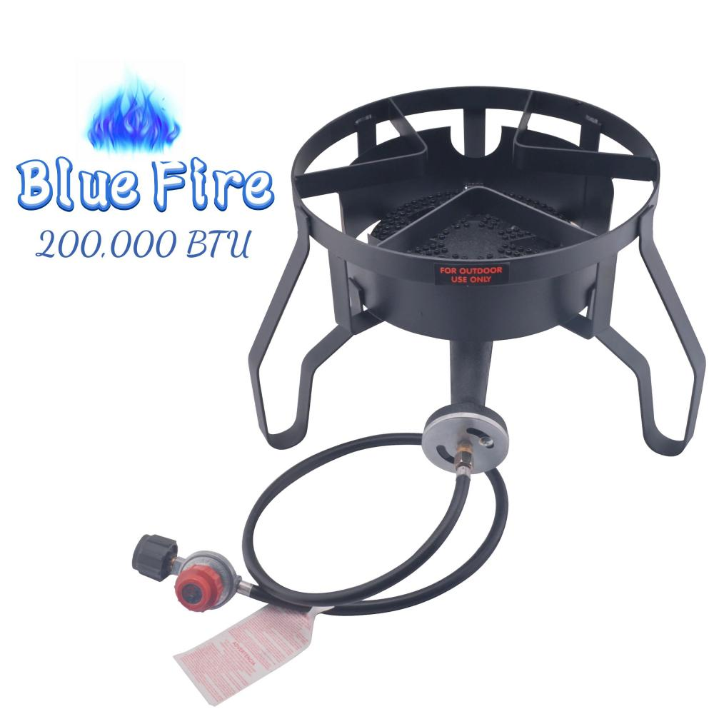 Afh 4129 Outdoor Stove With Black Hose