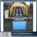 Bouchon de crête en aluminium machine hydraulique capot de toit machine de formage de rouleaux