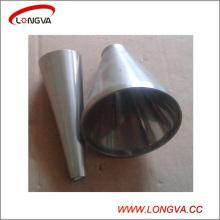 Réducteur de raccords de tuyauterie sanitaire en acier inoxydable 304