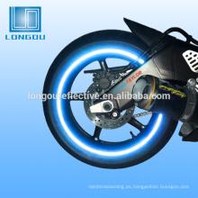 abrigo de cinta reflectante de la motocicleta