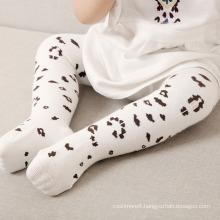 Baby Children Cotton Leopard Print Tights (TA608)