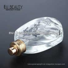 Leere ovale Glasflasche für Parfüm use100ml