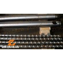 Одношнековый цилиндр для различных экструдеров
