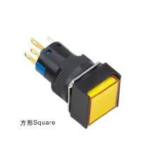 D16-H2y0l 16mm Quadrat LED Kaltlichtquelle Signal Lampe Anzeige