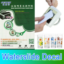 Inkjet Laser Water Slide Decal Transfer Paper