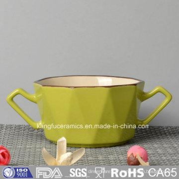 Fashinable Design Enamal Ceramic Mug