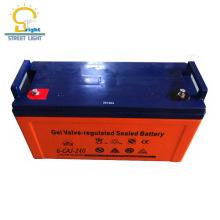 Горячий стиль 12 В 200ah глубокого цикла свинцовокислотную батарею геля для оптовой продажи
