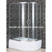 Salle de douche en verre trempé certifié par CE (E-22L)