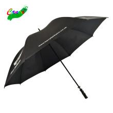 30-Zoll-Kenia-Faser-Rippspitzen-Regenschirme, China-Fabrik-Regenschirme, Golf-8-Rippen-Regenschirme