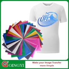Qingyi Großhandel Glitter Wärmepresse Vinyl für Kleidung