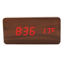 Réveil moderne créatif, horloge en bois de mode forstudents