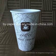 Einwegartikel aus Papier Kaffeetassen in hoher Qualität