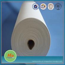 Tela misturada poli / algodão de T200 para o uso branco da folha de cama do hotel