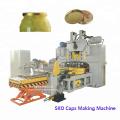 Máquina para fabricar tapas de botellas de vidrio para alimentos enlatados con tapa SKO