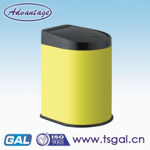 Color powder coating waste bin