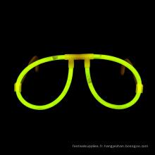 Verres Glow Stick Jaunes