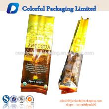 250g / 8.8oz Cubita papier d'aluminium torréfié grain de café en plastique sac avec sous vide