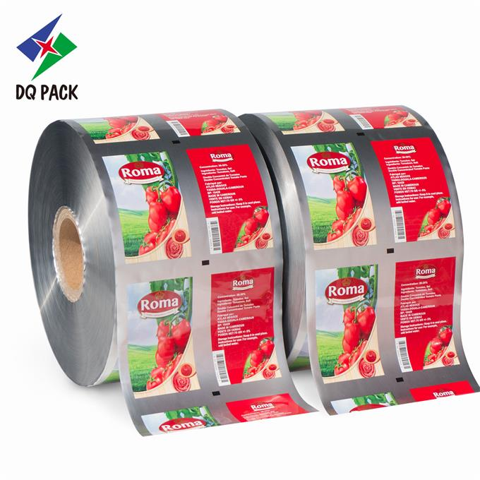 Ketchup Packaging For Paste