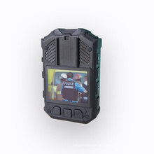 GPS IR-Nachtsicht-Körper getragene Kamera IP65 wasserdichte Polizei-Körper-Videokamera 1080P