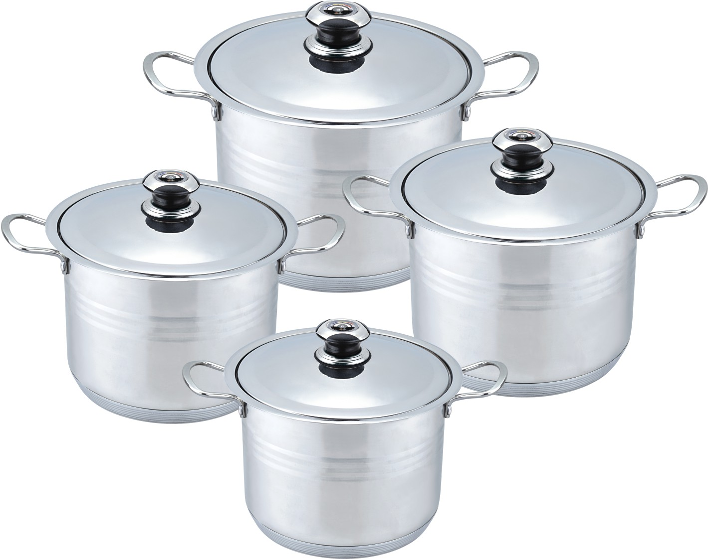 Portable Wide Edge Stock Pot
