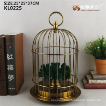 New arrival metal craft bird cage for wholesale